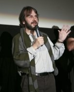 Producer Peter Jackson at a Comic-Con advanced screening of TriStar Pictures' sci-fi thriller 'District 9.'