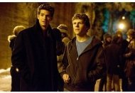 The Social Network: Andrew Garfield, Jesse Eisenberg