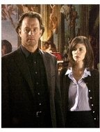 The Da Vinci Code Movie Stills:  Tom Hanks and Audrey Tautou