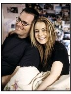 """Freaky Friday"" Movie Still: Mark Waters and Lindsay Lohan"