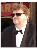 Academy Awards 2003 Arrivals: Michael Moore