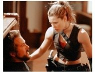 Blade: Trinity Movie Still: Ryan Reynolds and Jessica Biel