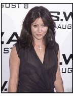 """Shannen Doherty at the """"S.W.A.T."""" premiere"""