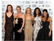 Cast of Desperate Housewives at the 62nd Annual Golden Globe Awards: Press Room