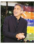 "George Clooney at ""The Bourne Supremacy"" Premiere"