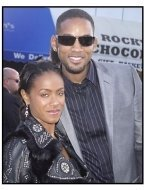 """Jada Pinkett Smith and Will Smith at """"The Matrix Reloaded"""" premiere"""