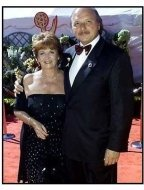 Dennis Franz and wife at the 2000 Emmy Awards