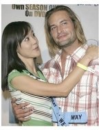Lost Season 1 DVD Release Party Photos:  Yoon-jin Kim and Josh Holloway