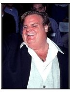 """Chris Farley at the """"Excess Baggage"""" Premiere"""