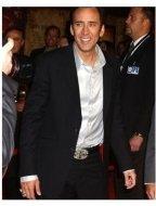 Nicolas Cage at the National Treasure Premiere