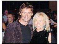 """Hugh Jackman and wife Deborra-Lee at the """"Van Helsing"""" premiere"""