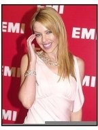 Kylie Minogue at the EMI Post Grammy Party