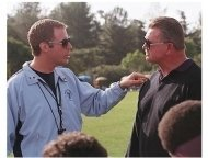 Kicking & Screaming Movie Stills: Will Farrell and Mike Ditka