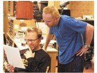 """Metallica: Some Kind of Monster"" Movie Stills: James Hetfield and Lars Ulrich"