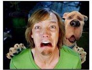 """Scooby Doo 2: Monsters Unleashed"" Movie still: Matthew Lillard and Scooby Doo"