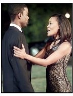 """Head of State"" Movie Still: Chris Rock and Robin Givens"