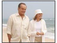 """Something's Gotta Give"" Movie Still: Jack Nicholson and Diane Keaton"
