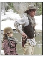 """The Missing"" Movie Still: Jenna Boyd and Tommy Lee Jones"