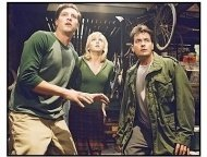 """Scary Movie 3"" Movie Still: Simon Rex, Anna Faris and Charlie Sheen"