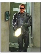 """Terminator 3: Rise Of The Machines"" Movie Still: Arnold Schwarzenegger"