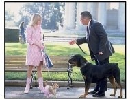 """""""Legally Blonde 2: Red, White And Blonde"""" Movie Still: Reese Witherspoon and  Bruce McGill"""