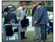A Beautiful Mind movie still: John Nash, Russell Crowe, Ron Howard