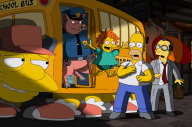 'The Simpsons' Anime Clip