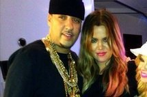 French Montana and Khloe Kardashian