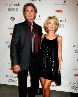 John Schneider and Kelly Carlson