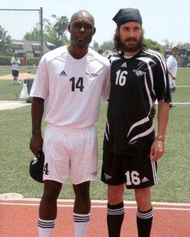 Jimmy Jean-Louis and Santiago Cabrera