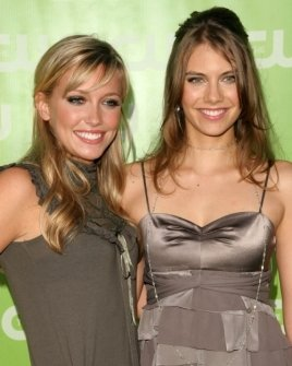 Katie Cassidy and Lauren Cohan