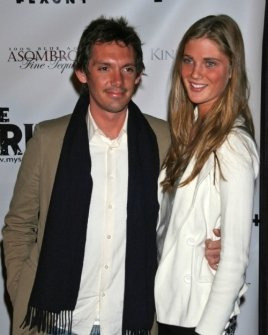 Lukas Haas and friend