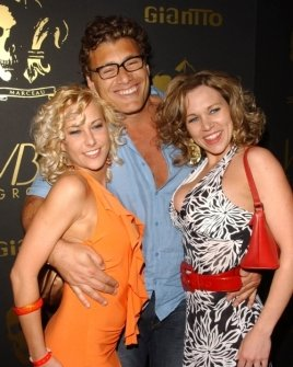 Chastity Fisher with Steven Bauer and Theresa Navarrette