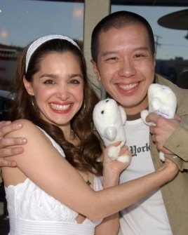 Gina Phillips and Reggie Lee