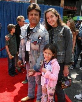 Erik Estrada and family
