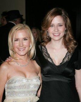 Angela Kinsey and Jenna Fischer