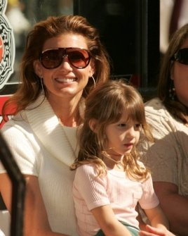 Faith Hill and daughter