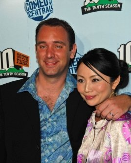 Trey Parker and wife Emma