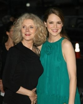 Blythe Danner and Jacinda Barrett