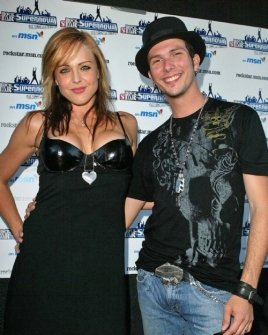 Storm Large and Josh Logan