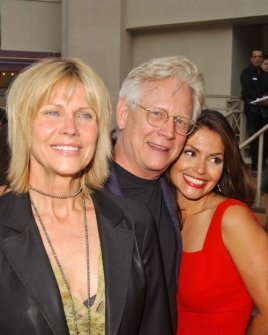 Bruce Davison with Cindy Pickett and Farah White