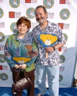 Maxine Clark and Peter Samuelson