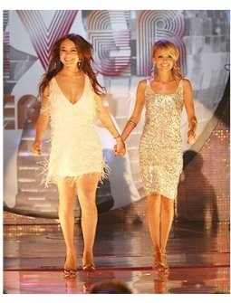Lindsay Lohan and Nicole Richie