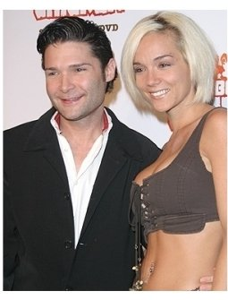 Robot Chicken DVD Launch Party:  Corey Feldman with wife Susie Feldman