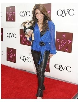 Paula Abdul Jewelry Collection Launch on QVC Photos:  Paula Abdul and Thumbelina