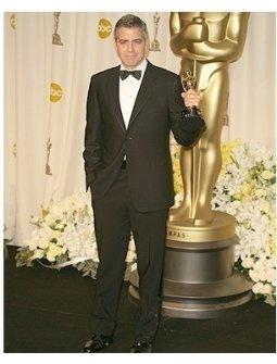 78th Annual Academy Awards Press Room Photos:  George Clooney