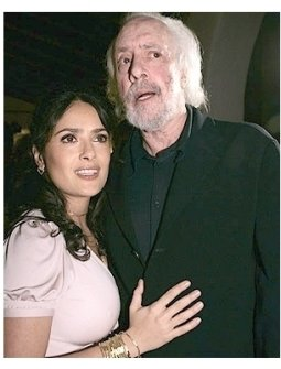 2006 Santa Barbara Film Festival Photos: Salma Hayek and Robert Towne Photo by Chris Weeks
