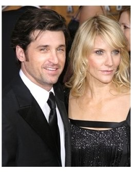 2006 SAG Awards Red Carpet: Patrick Dempsey and wife Jiff Fink