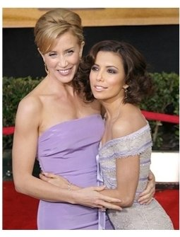 2006 SAG Awards Red Carpet: Felicity Huffman and Eva Longoria