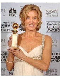 63rd Golden Globes Backstage Photos: Felicity Huffman